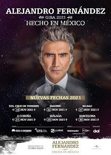 En A Coruña se traslada para el 21 de noviembre de 2021 en el Coliseum.