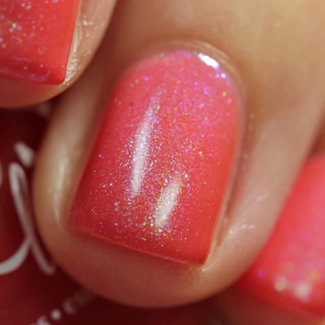 BLUSH Lacquers Kill 'Em With Kindness swatch by Streets Ahead Style