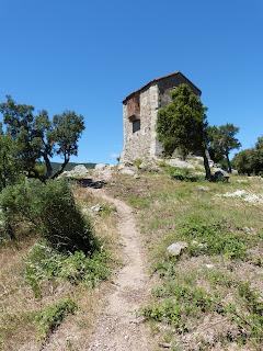 Ruines de panissars au-dessus du Perthus