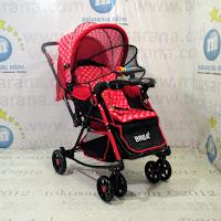 Kereta Bayi Does DS296i Brea 2 Rocker - Hadap Depan atau Belakang