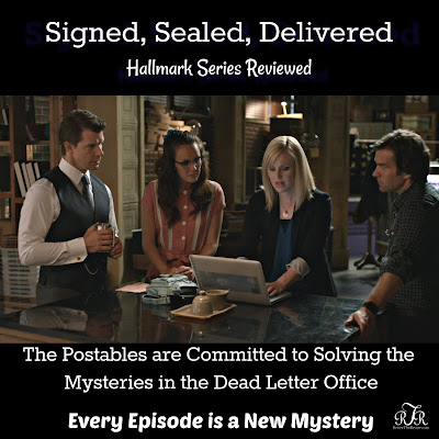 Signed, Sealed, Delivered Hallmark Series Reviewed