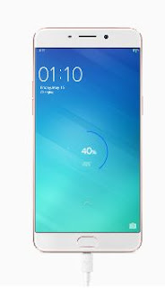 Oppo R9s Charging