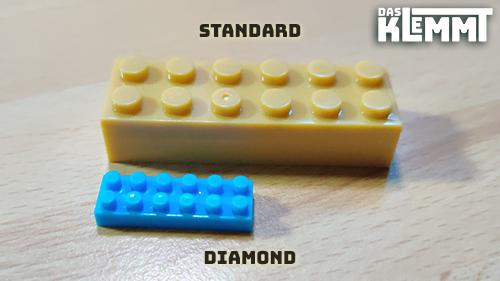 DAS KLEMMT Standard und Diamond Brick