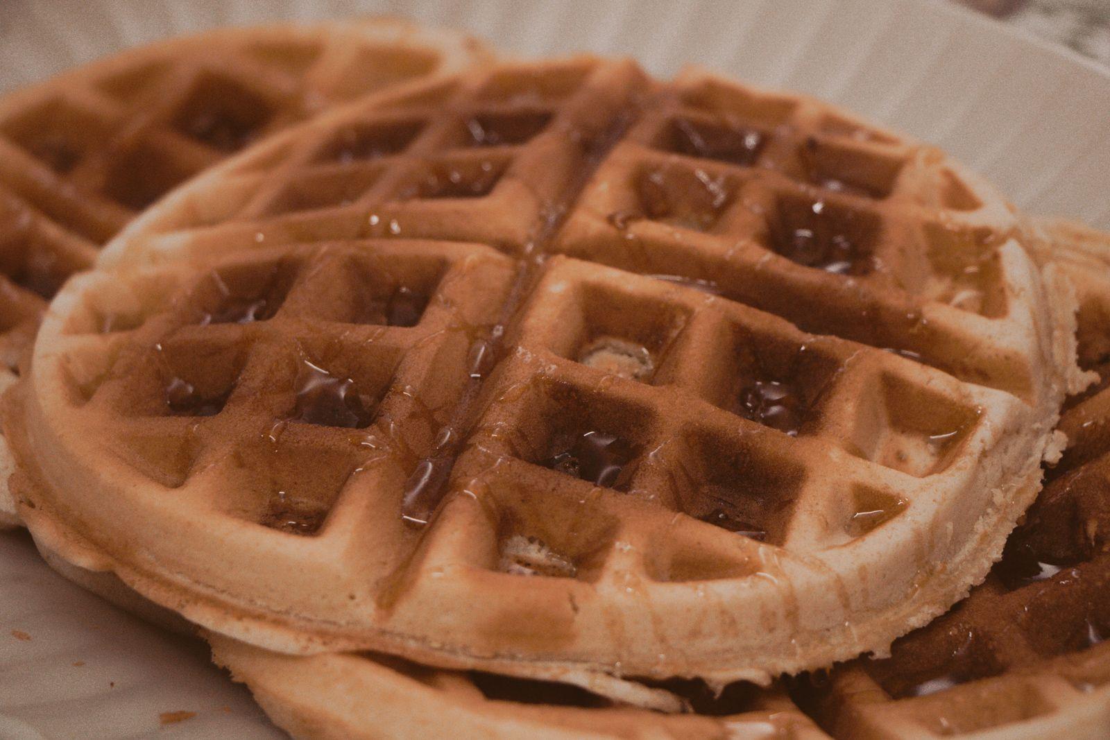 Ano Novo e a viagem de última hora waffles