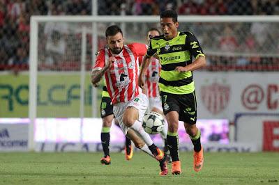 Santos elimina a Necaxa en la Copa MX 3 a 1