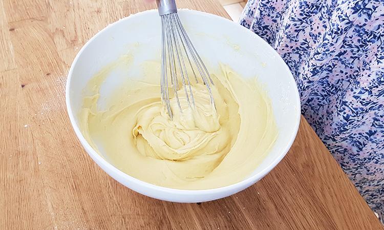 Pâte à la vanille