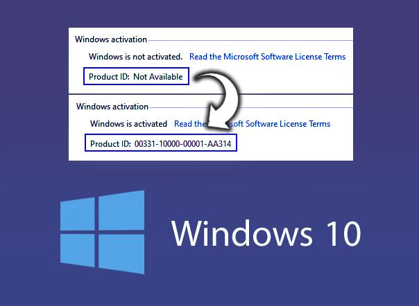 برنامج تنشيط ويندوز 10 برو 64 بت