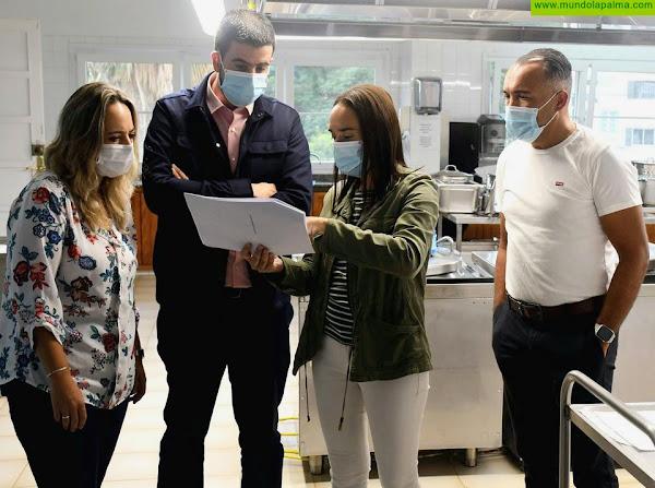 El Cabildo reforma la cocina del Hospital de Dolores