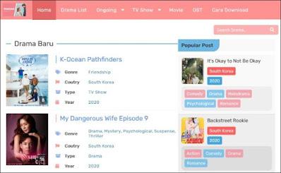 Situs Nonton Drama Korea Subtitle Indonesia - 1