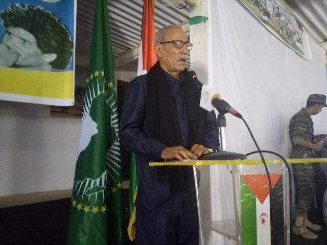 الامين العام للجبهة الشعبية يؤكد أن الثورة طويلة الأمد والخاتمة للنصر والاستقلال ولم شمل الصحراويين في دولة ذات سيادة