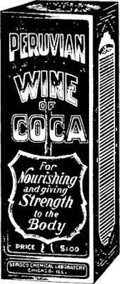 Pruvian Wine of Coca