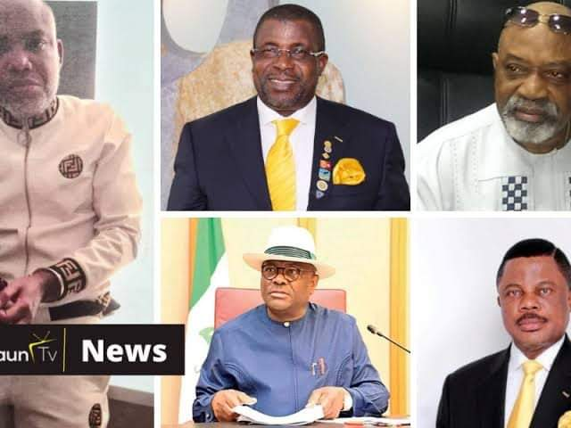 REVEALED: How Ngige, Wike, Obiano, Others Reportedly Funded Nnamdi Kanu's Arrest, Extradition - IPOB   CABLE REPORTERS