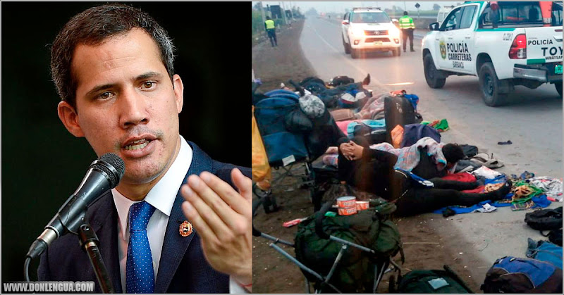 Guaidó se comunica con familiares de los migrantes arrollados en Perú para ayudarlos
