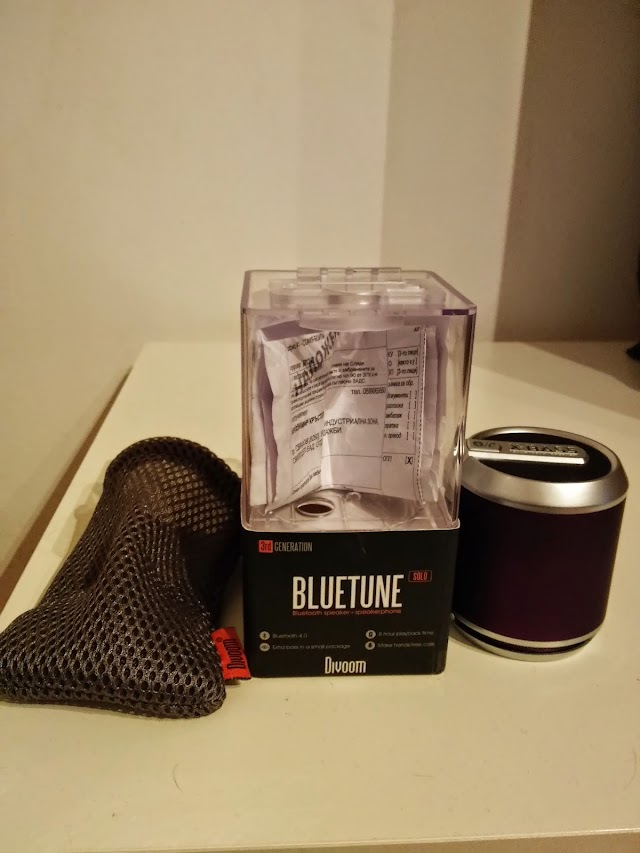 Divoom Bluetune-Solo v3 portable Bluetooth speaker