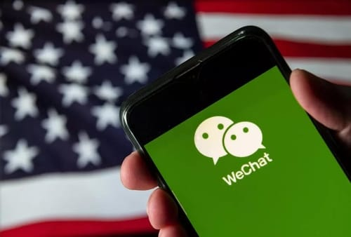 The elimination has ended the US ban on WeChat