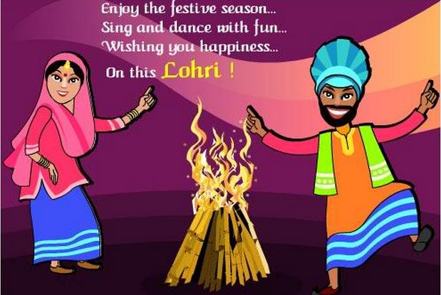 Happy Lohri Quotes, Messages, Pictures for Whatsapp and Facebook Status 2017