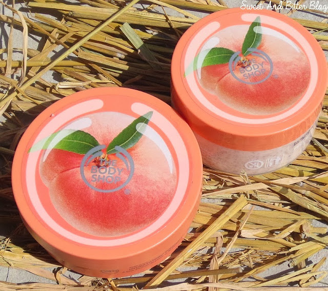 The Body Shop Vineyard Peach Body Butter Scrub