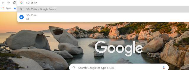 Google input tools: google calculation trick   Top 10 google tricks