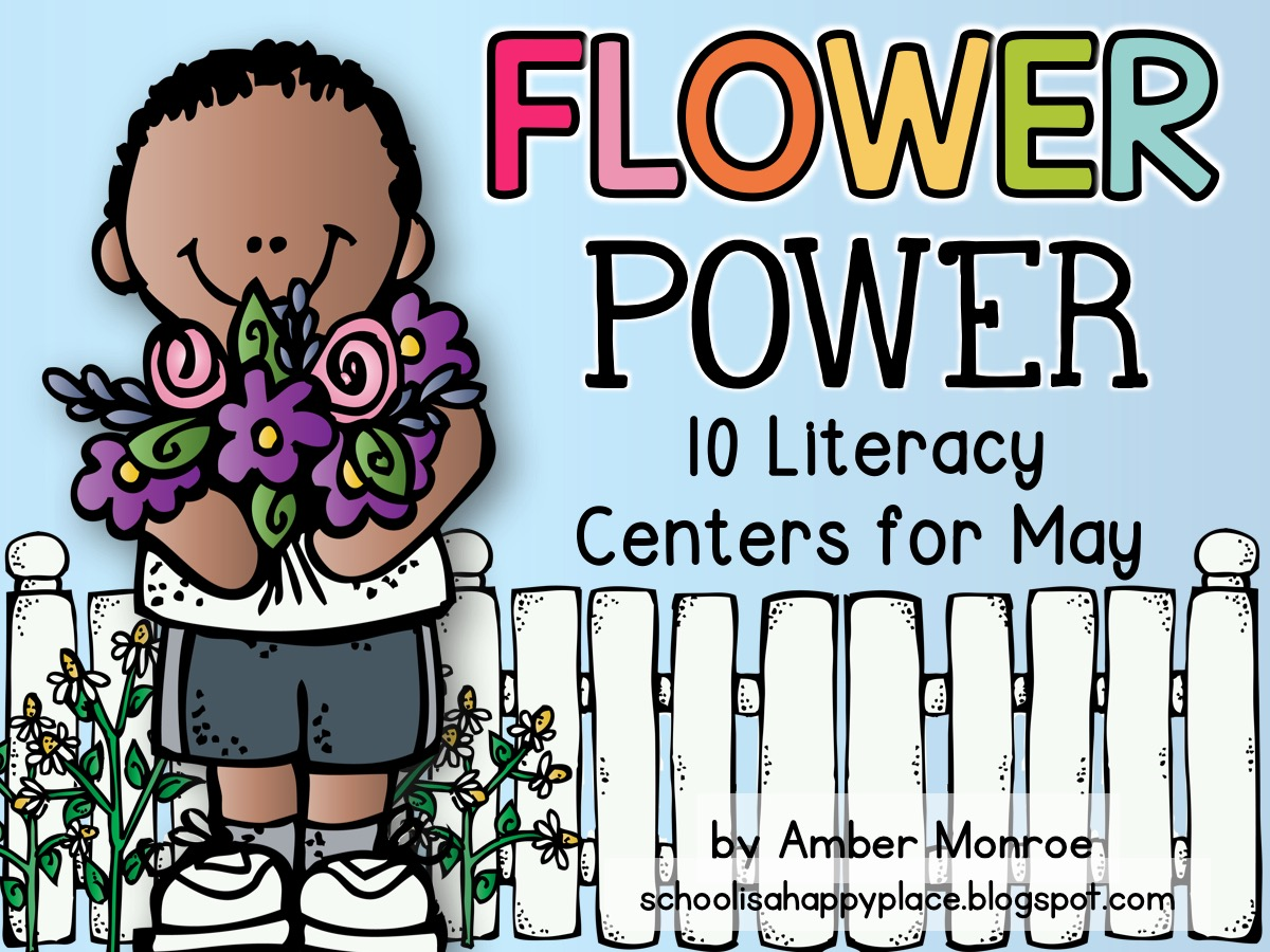 Literacy Centers for May