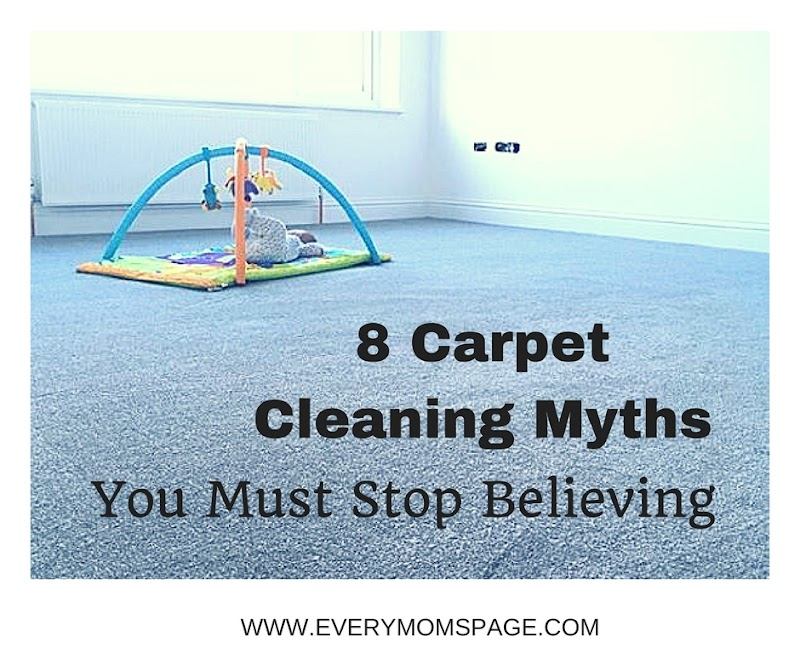 8 Carpet Cleaning Myths You Must Stop Believing