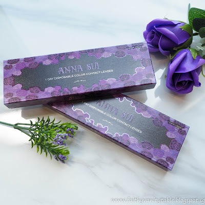 Anna Sui Roses 1-Day Disposable Color Contact Lenses Review