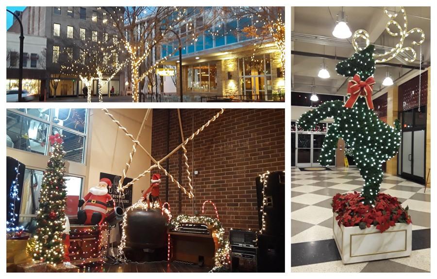 Décorations de Noel à Durham