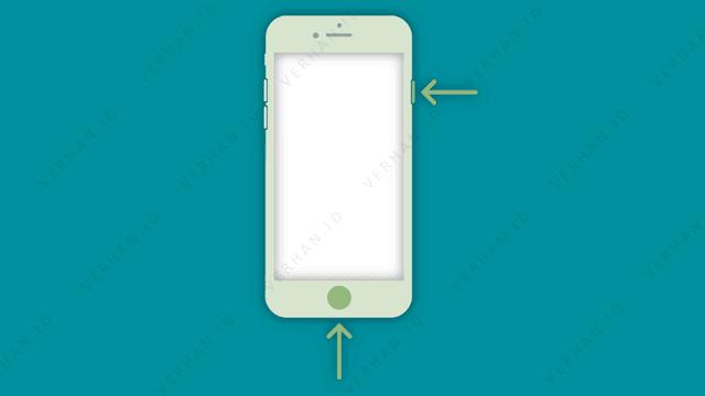 screenshot iphone home button
