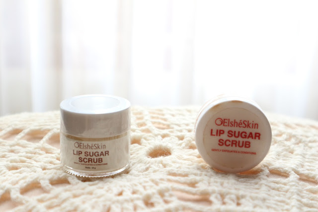 Elsheskin Lip Sugar Scrub review
