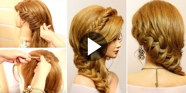 How To Create Bridal Hairstyle, See Tutorial