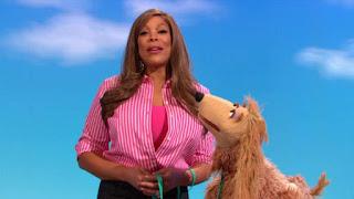 celebrity Wendy Williams, veterinarian, the word on the Street, Sesame Street Episode 4310 Afraid of the Bark season 43