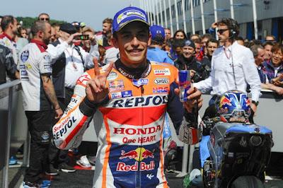 Marquez Tak Sabar Bungkam Duo Yamaha di GP Jerman