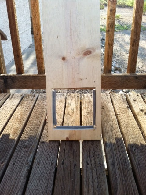 Down To Earth Diy Cat Door Horizontal Sliding Window