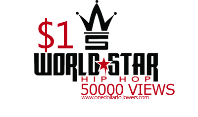 Buy 50000 Worldstarhiphop Views