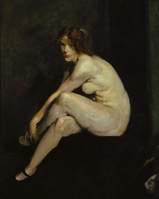 George Bellows: Miss Leslie Hall