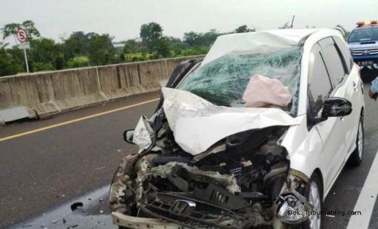 Kecelakaan Tunggal di Ruas Tol Pemalang-Batang, Sopir diduga Mengantuk