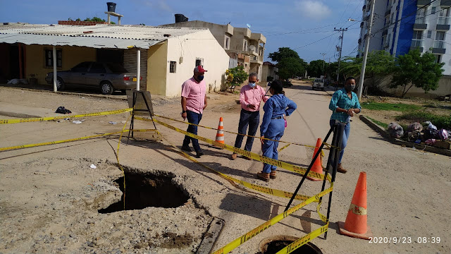 hoyennoticia.com, Alcaldía de Riohacha y ASAA  tras solución a colapso de alcantarillado en Las Tunas