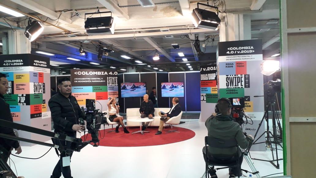Transmision en vivo desde el evento Colombia 4.0