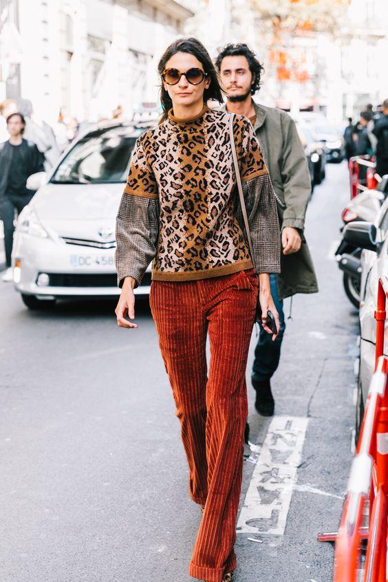 Corduroy Street Style Fashion