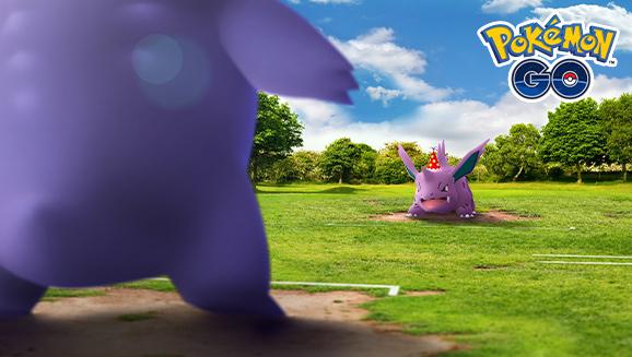 Gengar contra Nidorino Pokémon GO