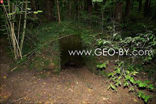 Wojciechowo (Novospask). Fifth found German bunker from the First World War