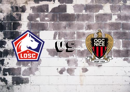 Lille vs Niza  Resumen