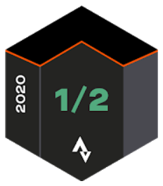 Strava April 2020 Half Marathon Achievement Badge