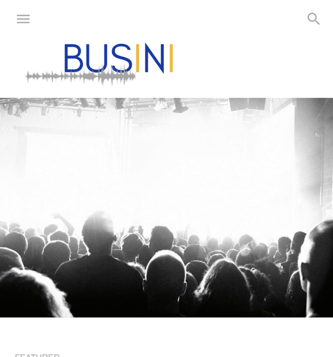 With Busini Music is the Universal Language of Not just Entertainment, but Culture, Commerce and Science
