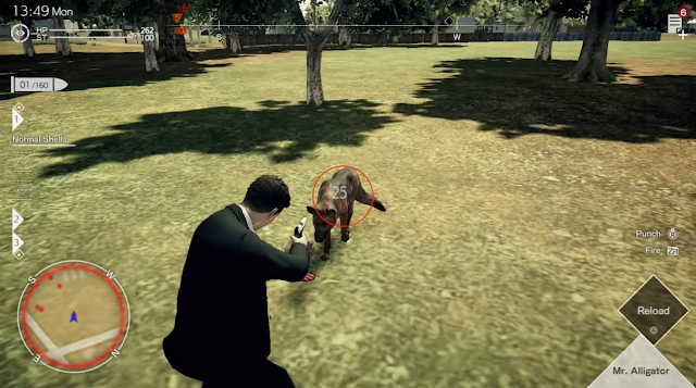 Deadly Premonition 2 Blessing in Disguise park dog Agent Francis York Morgan Mr. Alligator