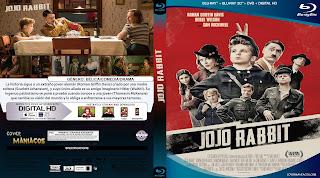 CARATULA JOJO RABBIT 2019[COVER BLU-RAY]