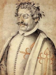 Retrato de Francisco de Quevedo después de recibir el Orden de Santiago (1618)