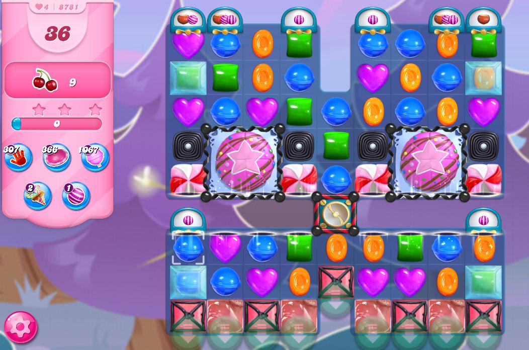 Candy Crush Saga level 8781