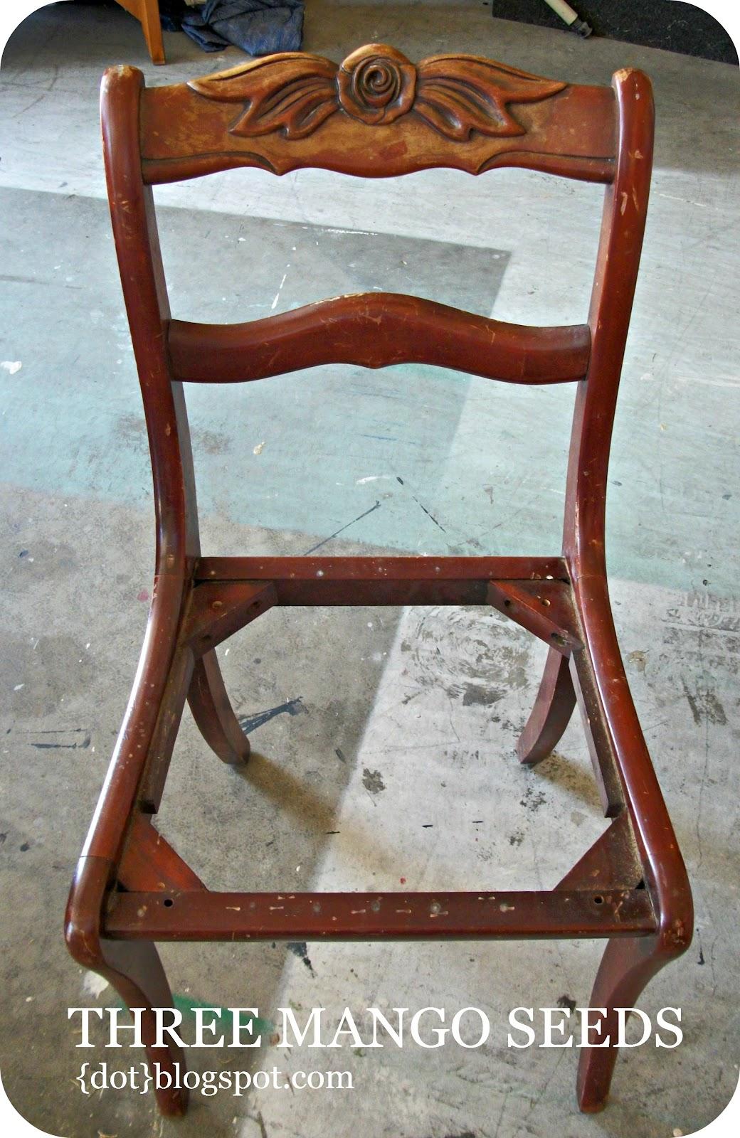 Three Mango Seeds: A Chair Makeover