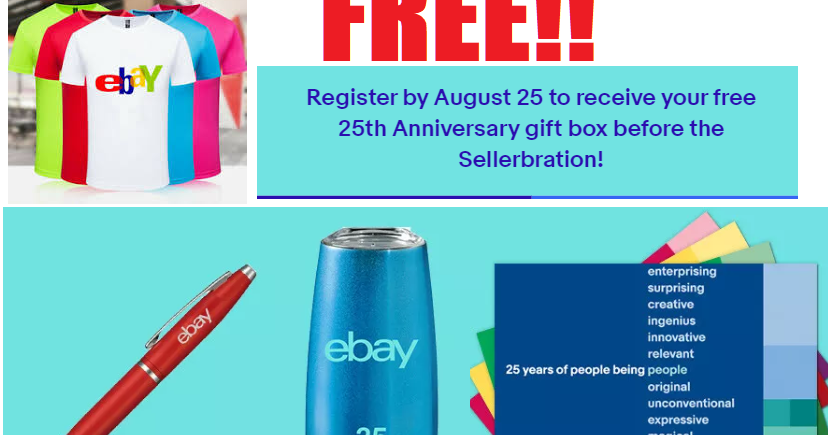 Free T Shirt And Swag From Ebay Heavenly Steals