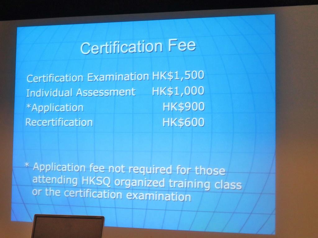 Quality Alchemist Hksq Seminar On Certified Quality